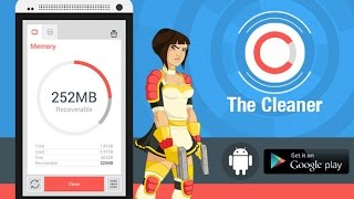 NUESTRO ANDROID MAS RAPIDO CON THE CLEANER APP