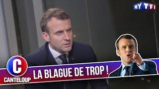 """Imitation d'Emmanuel Macron - """"Vous êtes virés"""" - C'est Canteloup"""