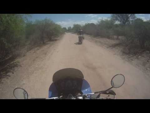 KLR 650 and DR 650 in Central Argentina