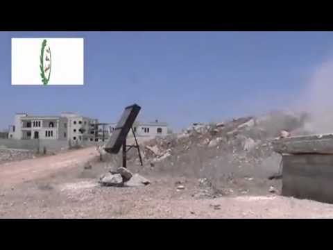 Al qaida in Syria Using New Rockets At Syrians