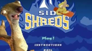 Ice Age - Sid Shreds (320x240 Mode)