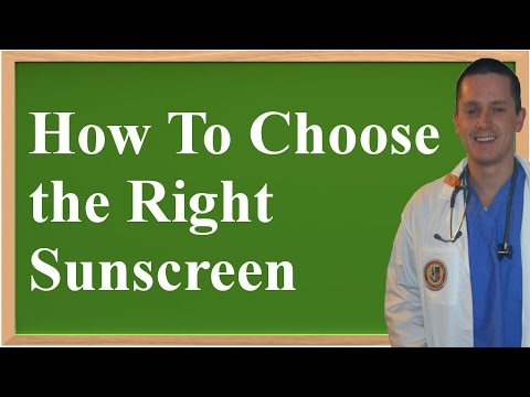 How To Read Sunscreen Labels & Choose the Right Sunscreen (Prevent Skin Cancer and Aging!)