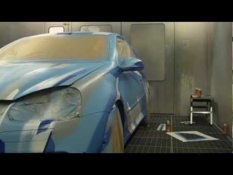 Bastique: Graffiti Art Car #02 (VW Golf V R32)