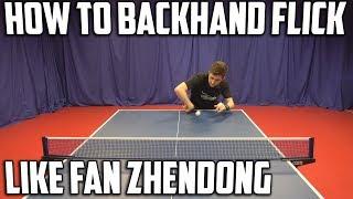 2013 Top 10 Table Tennis Shots