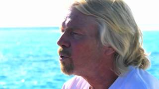 Richard Branson at the SLOW LIFE Symposium