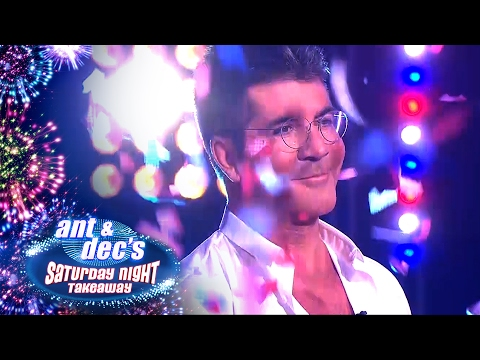 Simon Cowell's Surprise Appearence In Attraction Shadow Act ft. Paul Potts - Saturday Night Takeaway