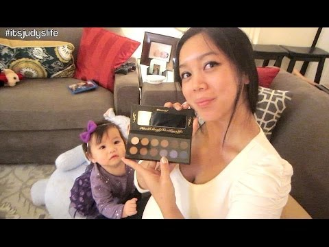 SNEAK PEEK AT MY EYESHADOW PALETTE! - Dancember 04, 2013 - itsJudysLife Vlog