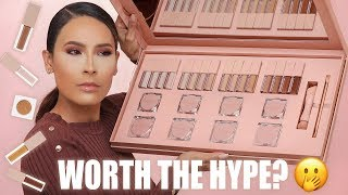 KKW BEAUTY CONCEALER KIT REVIEW | DESI PERKINS