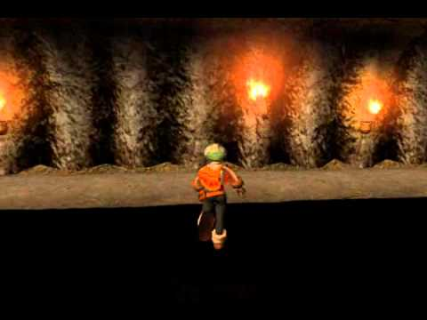 Dark Cloud (PS2) - Unused Divine Beast Cave Room