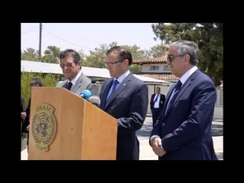 Turkish Cypriot, Greek Cypriot leaders make progress in talks
