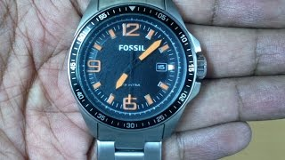 Fossil AM4359 Unboxing & Quick look || Nice Watch - Non transparent seller & Snapdeal