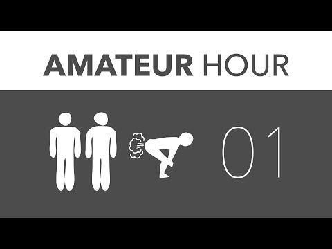 Amateur Hour Podcast: Episode 1 [June 27, 2012]