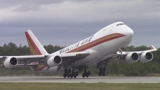 Kalitta Air Boeing 747-481(F) - Takeoff