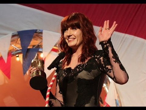 Florence + the Machine Best Solo Artist [NME Awards 2012]