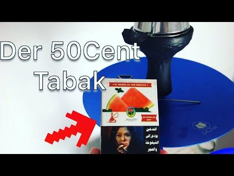 Wassermelone Minze Shisha Tabak für 50Cent aus Ägypten(Test) | RobsenTx