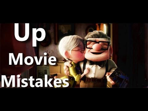 Disney's Up Movie Mistakes, Goofs and Fails from Pixar