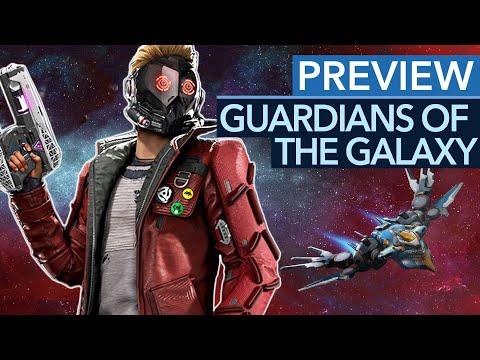 Viel Story, Action & Humor - und ein paar Sorgen! Guardians of the Galaxy in der Gameplay-Preview