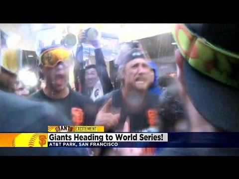 Giants Fans Celebrate NLCS Win, World Series Awaits