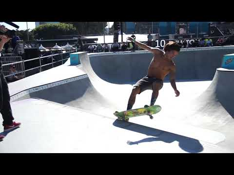 HEIMANA REYNOLDS DEW TOUR LONG BEACH PRO JAM HEAT ONE