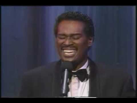 Fantastic Luther Vandross classic A House is not a Home Live