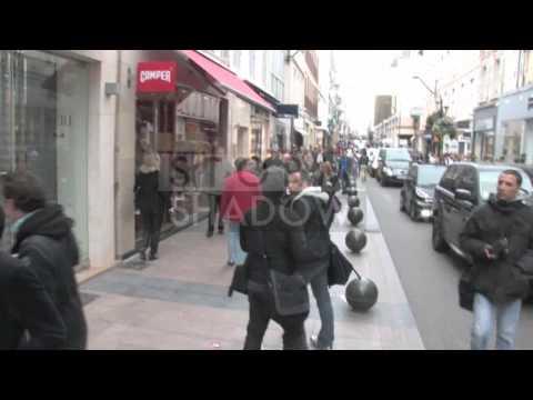 Hayden Christensen with Rachel Bilson shopping strolling in Cannes