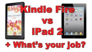 DailyTechTV Q&A - Kindle Fire vs iPad 2 & What is your Job ?