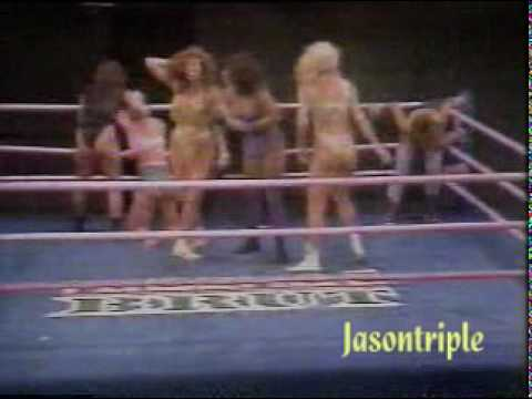 GLOW .-  Amy la hija del Granjero, La Muñeca de California & Ashley Cartier vs Angel, Envy & Ador