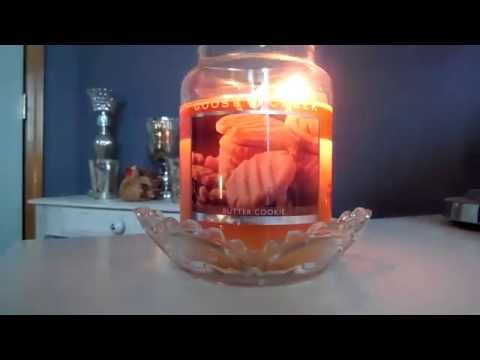 Candle Review Goose Creek Butter Cookie!
