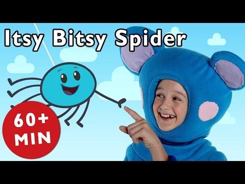 incy wincy spider (itsy bitsy spider) - nursery <a rel=