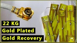 ?Gold Plated Boards Gold Recovery  Gold Striping from Gold Plated Computer Parts Computer Recycling