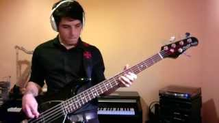 Mark Ronson - Uptown Funk ft Bruno Mars - Bass Cover - With TAB