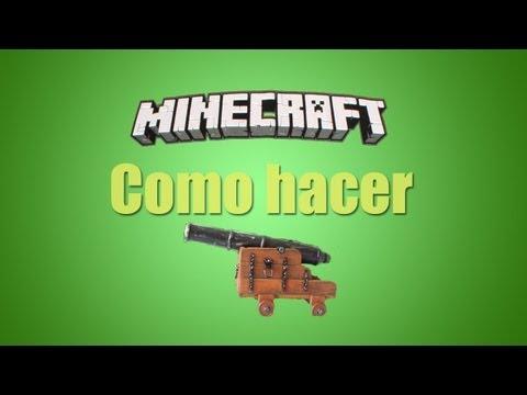 ★ Minecraft - Tutorial de como hacer un cañon / fuegos artificiales