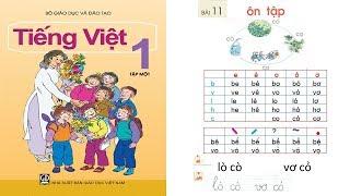 Tiếng Việt lớp 1 Tập 1 Bài 11 | dạy bé học chữ cái tập đọc tiếng việt lớp 1 | PA channel