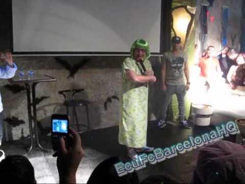 El Show de la vecina (Tomas Delgado) en Igualada , Barcelona , España 2010 PART 1/9