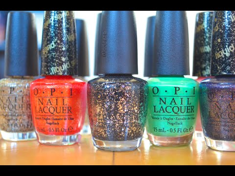 My Top 10 OPI Nail Polishes