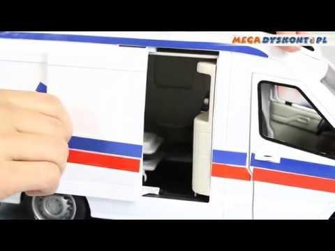 Emergency Van Karetka Pogotowia Dickie Toys www.MegaDyskont.pl