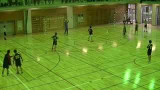 ハンドボールhandball  麻布大学×自治医科大学 前半 1