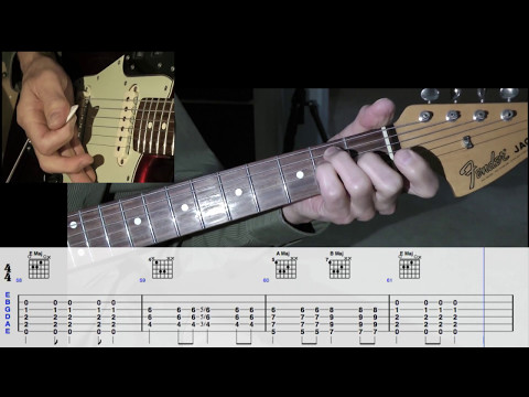 The Rivieras - California Sun - Guitar Lesson w/Tabs