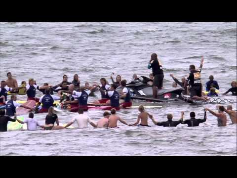 Quiksilver Pro New York - 9/11 Paddle Out Ceremony