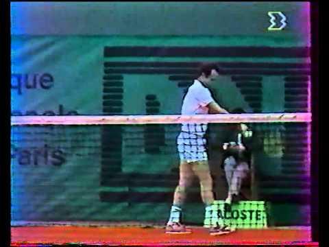 チャン vs マッケンロー - ローランギャロス 1988 - 05/08