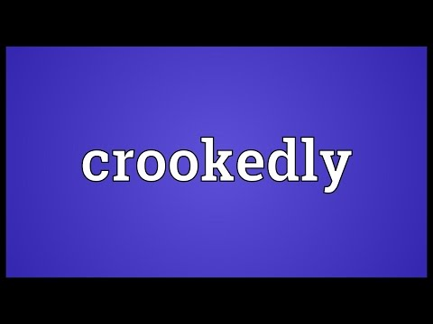 Header of crookedly