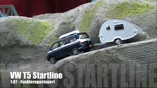 1:87 RC - VW T5 Offroad mit Wohnanhänger - Infrarotgesteuert / Funkferngesteuert / Radio Control