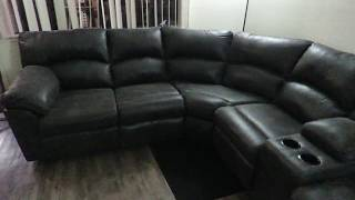 Tambo Pewter Collection Reclining Sectional Ashley's Furniture 2780148