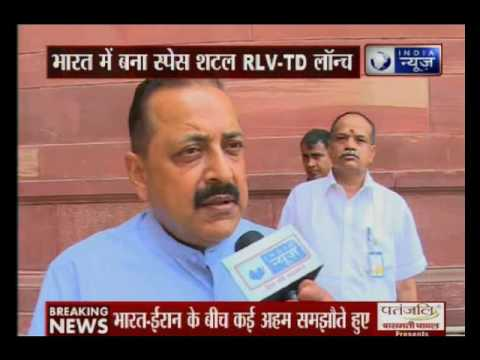 Union Minster Jitendra Singh speaks exclusively to India News