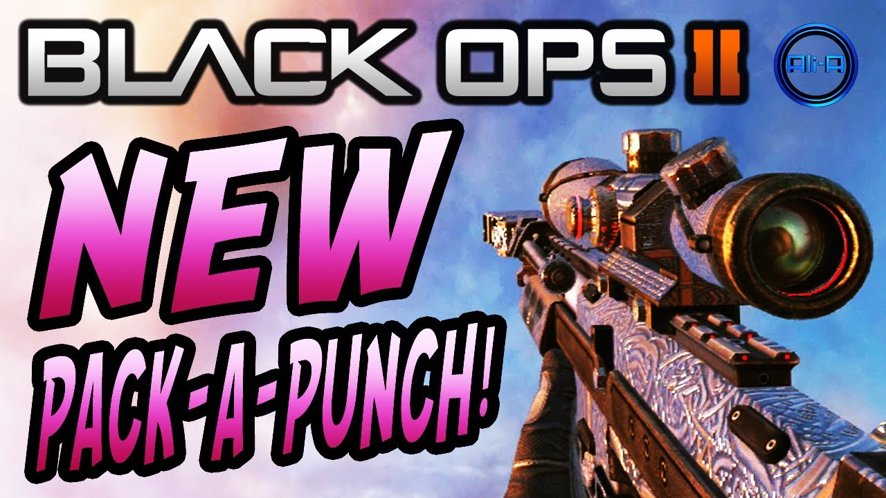 Pack a Punch Camo Black Ops 2 Black Ops 2 Pack-a-punch