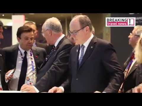 Prince Albert II of Monaco visits Expo Milano 2015