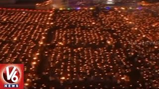 Navaratri: Thousands Of Devotees Perform Maha Aarti At Surat's Umiya Temple