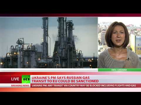 Ukraine may stop Russian gas transit to EU as form of sanctions