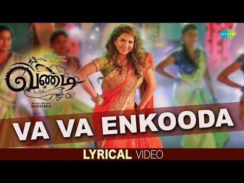 Va Va Enkooda | Lyrical | Vandi | Vidharth | Sooraj S Kurup | Snehan | Sithara Krishnakumar