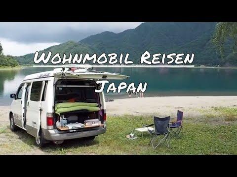 Camping - Mit dem Campervan in Japan auf Reisen